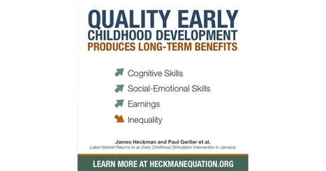 Early Childhood Development Produces Long-Term Benefits | Heckman | Kindergarten | Scoop.it