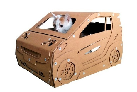 These Elaborate Cardboard Boxes Are Exactly What Your Cat Needs | Pet Sitter Picks | Scoop.it