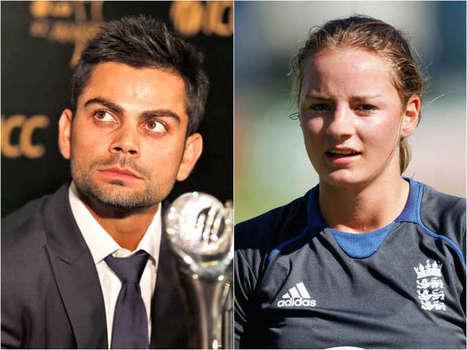 English woman cricketer Danielle Wyatt 'proposes' to Kohli - Latest Sports Buzz | Sandhira Sports | Scoop.it