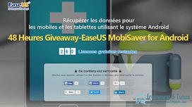 Offre promotionnelle : EaseUS MobiSaver for Android 5.0 gratuit ! | Freewares | Scoop.it