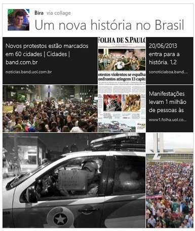 How is the Brazilian Uprising Using Twitter? | Bits 'n Pieces on Big Data | Scoop.it