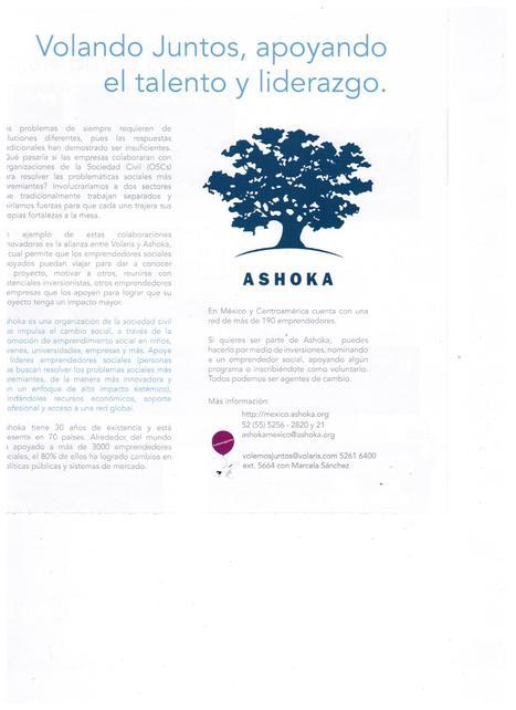 Volaris y Ashoka volando juntos | Ashoka México y Centroamérica | Scoop.it