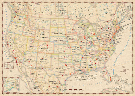 Atlas of True Names USA, Canada & British Isles | KalMedia.com | World of Words | Scoop.it