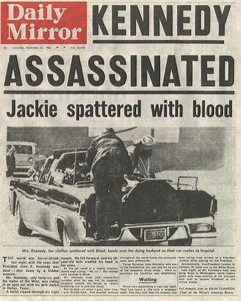 #326 ❘ 50 ans : assassinat de John Fitzgerald Kennedy | # HISTOIRE DES ARTS - UN JOUR, UNE OEUVRE - 2013 | Scoop.it