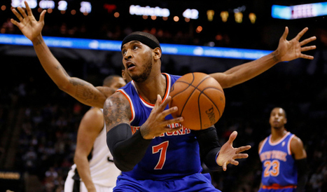 Reports: Carmelo Anthony is expected to return to the Knicks   NBA News and Notes   Scoop.it