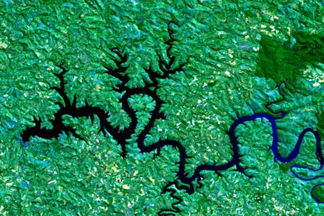 El arte de un creador argentino con imágenes satelitales | H.Scocco | Scoop.it
