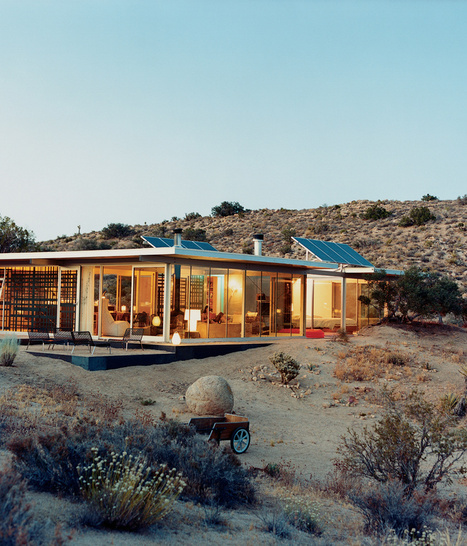 Green Technology and Contemporary Design in Joshua Tree:  The iT House | Chiropractor | Scoop.it