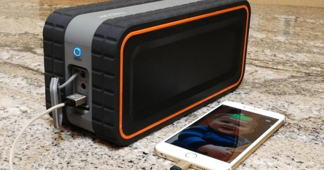 This rugged speaker packs 30 watts of power to rock out in any weather | Flash Technology News | Scoop.it