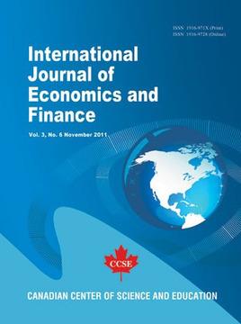 International Journal of Economics and Finance | Teaching Economics | Scoop.it