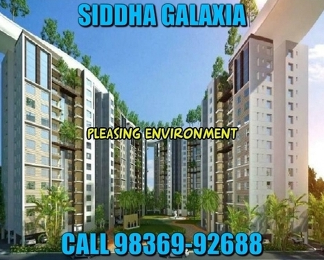 Siddha Galaxia Rajarhat Kolkata | Real Estate | Scoop.it