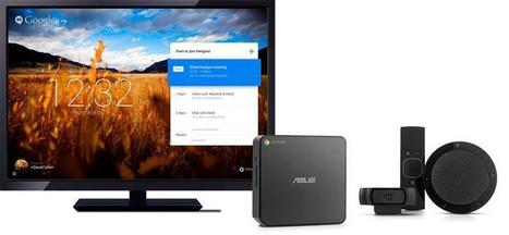 Google s'attaque à la visioconférence avec Chromebox for Meetings | New way of working | Scoop.it