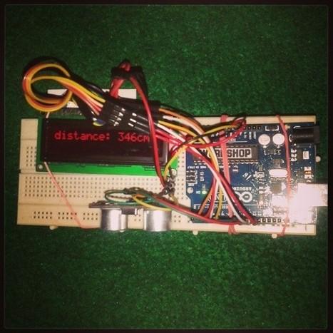 "Ar Rahman on Instagram: ""Ulatrasonic Test #Arduino"" | Raspberry Pi | Scoop.it"