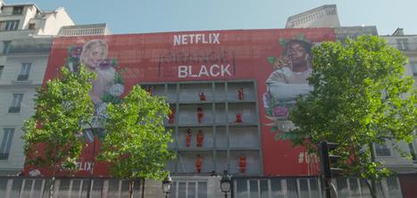 Netflix transforme un panneau d'affichage en prison pour Orange Is the New Black | Creative marketing ideas | Scoop.it