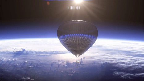 Would You Pay  $75,000 to Ride This Spectacular Balloon to Space? | Good news from the Stars | Scoop.it