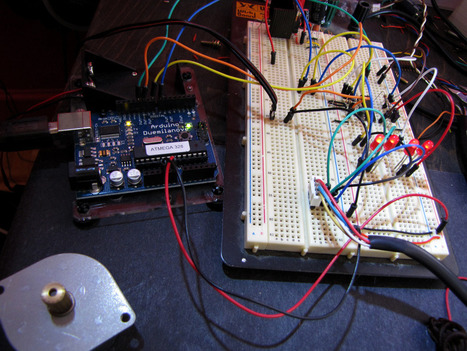 Arduino Bipolar Stepper Motor Driver | arduino | Scoop.it