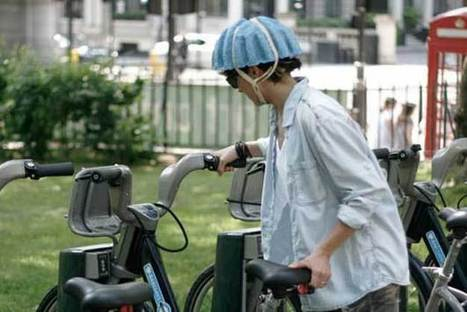 Bike Helmet Made From Recycled Newspaper [Video] - PSFK | Idées d'ailleurs | Scoop.it