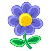 Blue Flower Icon | IconsFind | iconsfind | Scoop.it