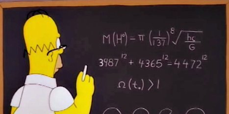 D'oh! Secret Math References Hidden In Homer's World | Teacher Tools and Tips | Scoop.it