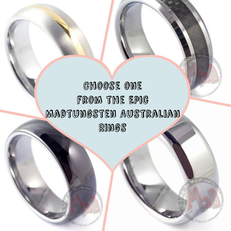 The Constituents of a Wedding Rings - Madtungsten Australia | mad tungsten | Scoop.it