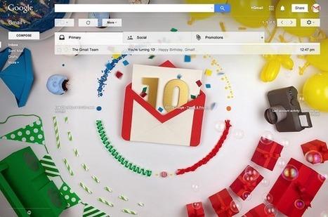 Happy 10th Anniversary Gmail: The Top 10 Things That You Should Know - Search Engine Journal | B2B et réseaux sociaux | Scoop.it