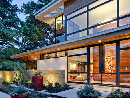 Sustainable-Luxury Home Blending With the Neighbourhood | What Surrounds You | Scoop.it