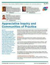 Appreciative Inquiry and Communities of Practice - Introduction | Appreciative Inquiry and metaphors | Scoop.it