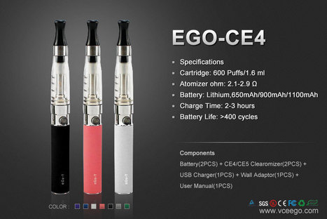 Ingrosso Quality eGo-CE4 Kits from E-Cigs Manufacturer and Supplier in China | Vceego Sigaretta Elettronica - Sigarette elettroniche Ingrosso | Scoop.it