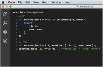 Arrow functions are a new ES6 syntax for writing JavaScript functions. They will save developers time and simplify function scope.   javascript node.js   Scoop.it