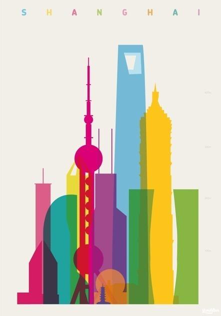 Shapes of cities – Les silhouettes des villes du monde | Ma Bretagne | Scoop.it