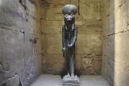 Hallan la estatua de una diosa egipcia de más de 3000 años - ARQUEOLOGOS   Simbolismos mítiticos: Egipto   Scoop.it