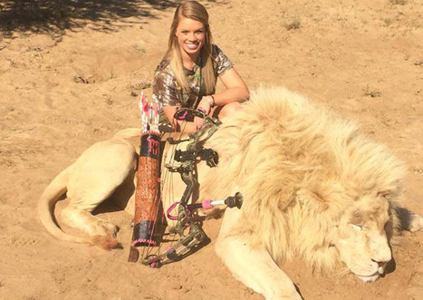 Hey, #shitty Kendall Jones: hunting animals does not 'help' them | Nature Animals humankind | Scoop.it