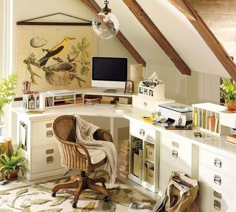 20 Home Office Design Ideas for Small Spaces | Creative Insights | Scoop.it