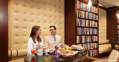 Love Relaxing and Reading? Plan a Stay at the Library Hotel | Library world, new trends, technologies | Scoop.it