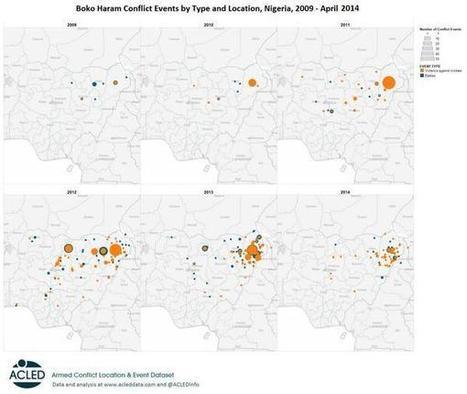 Boko Haram aanvallen in kaart | aardrijkskunde | Scoop.it