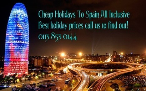 Cheap Holidays to Spain | last second holidays | Scoop.it