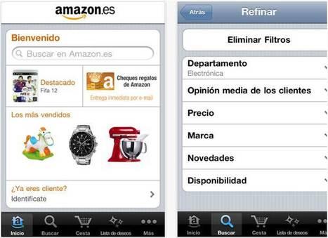 Amazon.es estrena nueva aplicación para sistemas iOS | MLKtoSCL | Scoop.it
