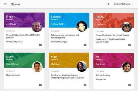 Google Classroom, un nuevo sistema de gestión de aprendizaje | Google tresnak | Scoop.it