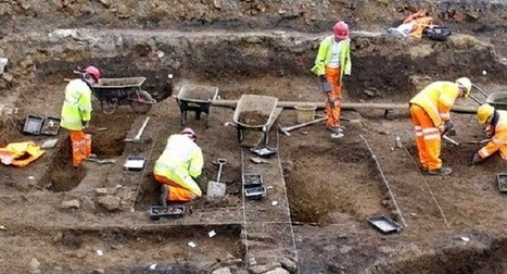 Medieval chess pieces found in Northampton dig | Monde médiéval | Scoop.it