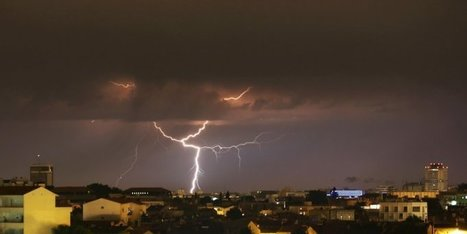"Orages : plus de peur que de mal en Gironde | ""Viticulture en gironde"" 