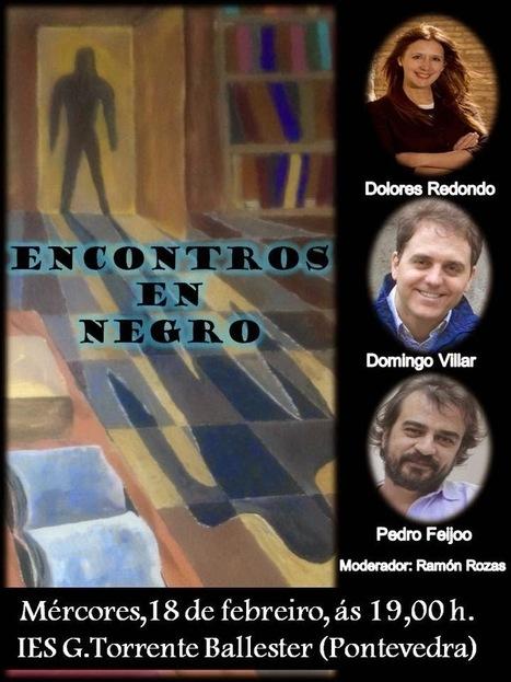Encontros en negro... na biblioteca do IES G. Torrente Ballester (Pontevedra) | Bibliotecas Escolares de Galicia | Scoop.it