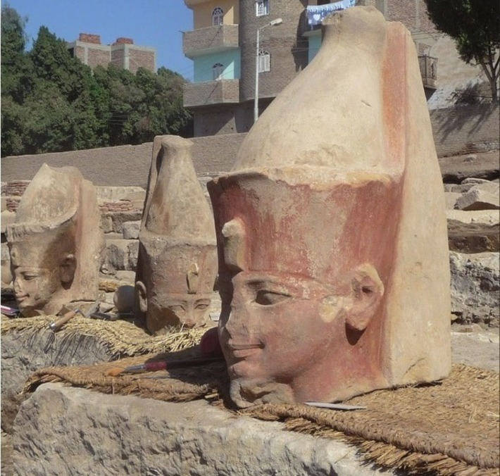 Head of Thutmosis III statue found near Luxor   The Archaeology News Network   Kiosque du monde : Afrique   Scoop.it