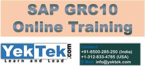 SAP GRC 10 ONLINE TRAINING   SAP GRC ONLINE TRAINING   Scoop.it