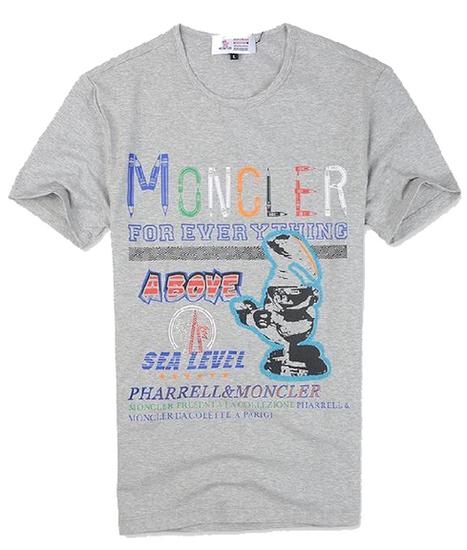 Wholesale Free Shipping Moncler Herren T-shirt grey MLT004 KX-50289E | omstandard.com | Scoop.it