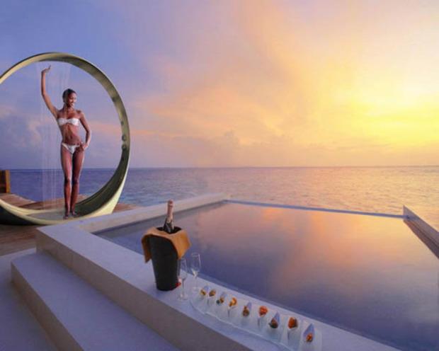 Salle de bain design: Loop Shower de Diego Granese | La Revue de Technitoit | Scoop.it