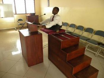 LDS senior missionary serving in Ghana builds pulpit for paralyzed branch ... - Deseret News | LDS | Scoop.it