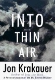 Into Thin Air: A Personal Account of the Mount Everest Disaster by Jon Krakauer | Creative Nonfiction : best titles for teens | Scoop.it