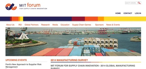 2014 Manufacturing ReShoring Survey | MIT Forum for Supply Chain Innovation | Manufacturing In the USA Today | Scoop.it