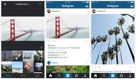Instagram Isn't Only Square Photos Anymore | Pedalogica: educación y TIC | Scoop.it