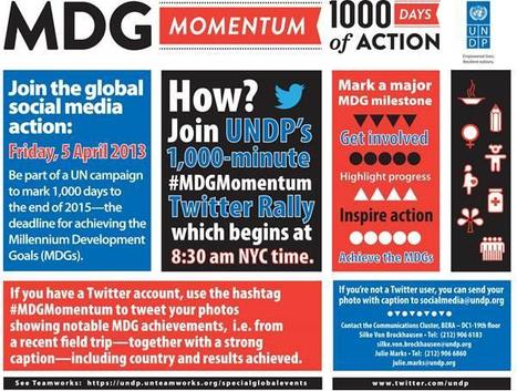 Momentum1000 | 1000 Minute Digital Worldwide Rally – 1000 Milestone For The MDGs | Genera Igualdad | Scoop.it