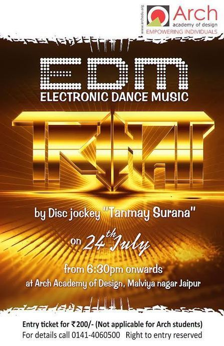Electronic Dance Music at Arch Academy of Fashion Design | Jewellery Design Courses | Scoop.it